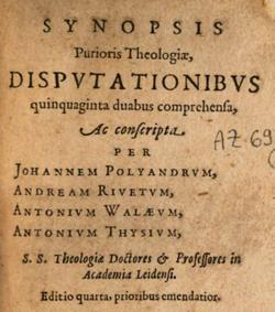 Synopsis Purioris Theologiae